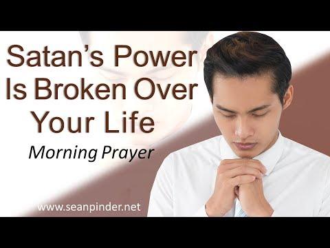 SATAN'S POWER IS BROKEN OVER YOUR LIFE - MARK 5 - MORNING PRAYER | PASTOR SEAN PINDER (video)