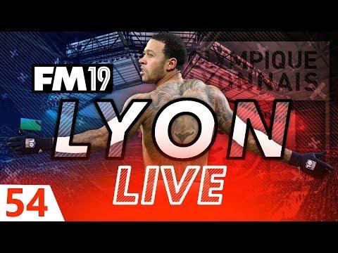 Football Manager 2019 | Lyon Live #54: Dep-bye? #FM19