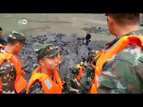 Al menos 120 desaparecidos por deslizamiento de tierra en China