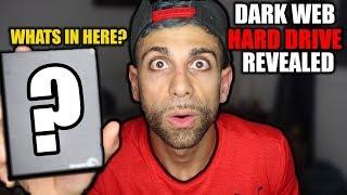 I got a HARD DRIVE in my MYSTERY BOX off the DARK WEB! Found BITCOIN a DARK WEB HARD DRIVE? | ALI H