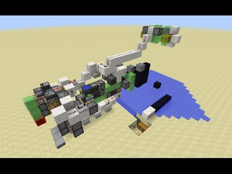 Minecraft: Automatic Tunnel Bore Machine - Auto Mining [No