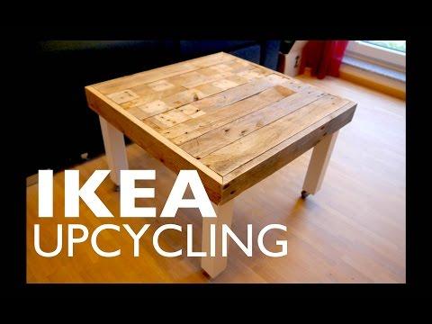 IKEA Lack Tisch Upcycling - Schicke Verkleidung für das bekannte Möbelstück