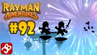 Rayman Adventures (Adventure 196 -198) iOS / Android Gameplay Video - Part 92