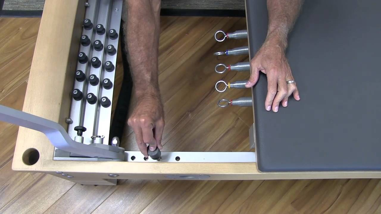 In this video, Rael discusses the new resistance settings available on the BASI Systems reformer.