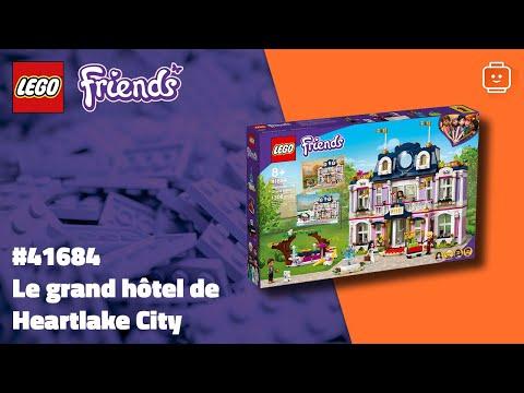 Vidéo LEGO Friends 41684 : Le grand hôtel de Heartlake City