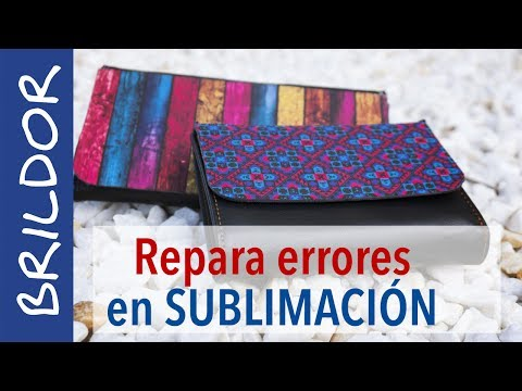 Repara errores en sublimación con Sublitex