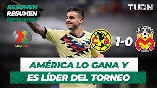 Resumen América 1 - 0 Monarcas   Liga MX - Apertura 2019  - Jornada 5   TUDN