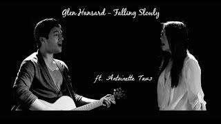 Glen Hansard - Falling Slowly cover   David Fertello ft. Antoinette Taus