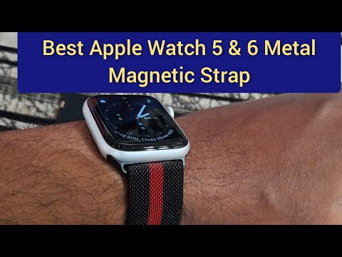 New Apple Watch 5 & 6 Strap | Best Looking Metal Strap For Apple Watch 2020