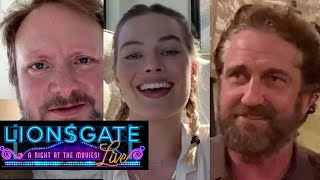 Thank You Theater Workers - Margot Robbie, Gerard Butler, Rian Johnson | Lionsgate LIVE