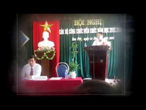 HỘI NGHỊ CBCCVC NĂM HỌC 2015- 2016
