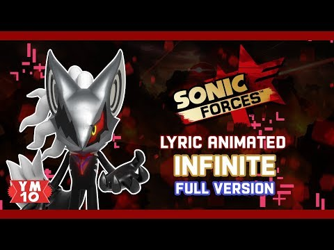 SONIC FORCES INFINITE (FULL VERSION) ANIMATED LYRIC (60fps) Mp3