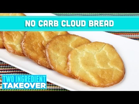 Video NO Carb Cloud Bread! 3 Ingredient Takeover - Mind Over Munch
