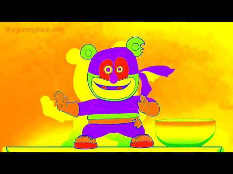 NEON & TRAINBOW Gummibär REQUEST VIDOE Gummy NInja Gummy Bear Song