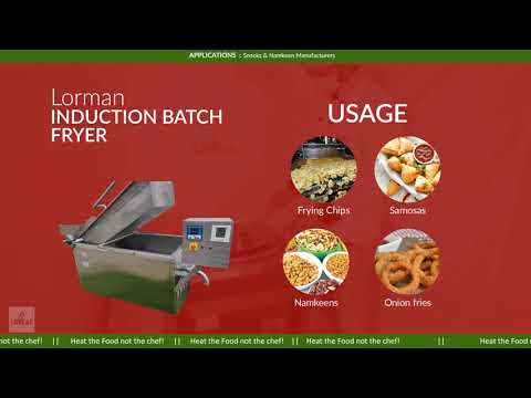 Induction Batch Fryer