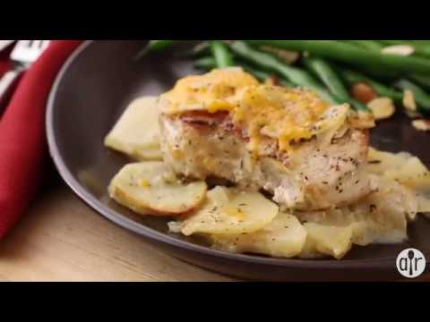 How to Make Pork Chops with Creamy Scalloped Potatoes | Dinner Recipes | Allrecipes.com