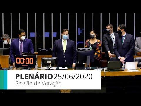 Plenário aprova texto-base da MP de ajuda a empresas na pandemia - 25/06/2020 - 11:47