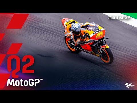 MotoGP 2021 第12戦イギリス Q2ハイライト動画