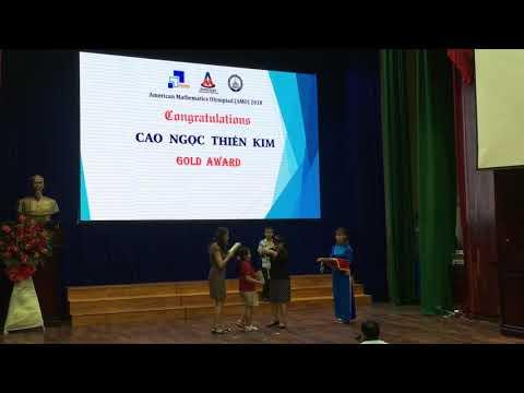 Lê Nguyễn Hoàng Nhật Đình - Lớp 4, Trường Tiểu học Quang Trung, TP Cà Mau. Huy chương vàng AMO 2018!