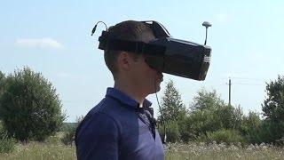Добротный видеошлем Eachine Goggles One (FPV Goggles Video Glasses)