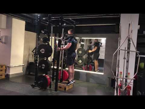 Will Davis Training - Safety Squat Bar Calf Raise