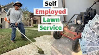 🔥 Morning Routine & $480 MOWING Workday Vlog 🌱 Love Yourself While Making Money in Lawn Care 💚💰