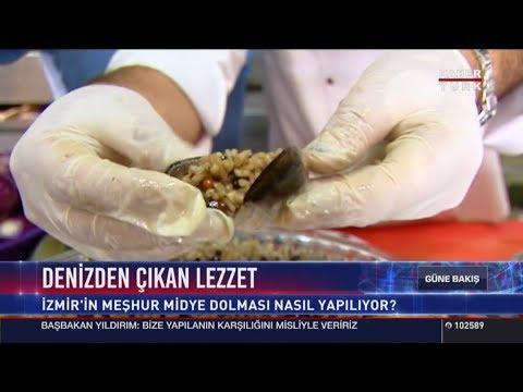 İzmir in meşhur Midye Dolması nasıl yapılıyor?