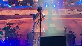Eminem   Walk On Water Ft. Skylar Grey (Live At Brisbane, Australia, 02202019, Rapture 2019)