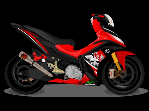 Video MODIFIKASI JUPITER MX NEW 135