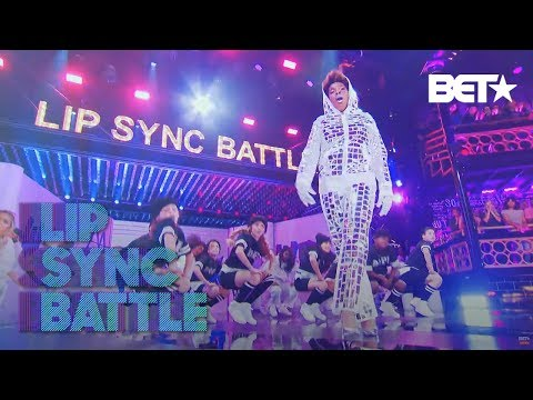 Macy Gray's Puts Her Own Spin On Missy Elliot's 'WTF' | Lip Sync Battle: Soul Train Awards Edition