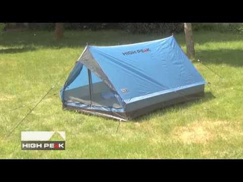 High Peak Zelt Minipack Aufbauvideo / Setup video