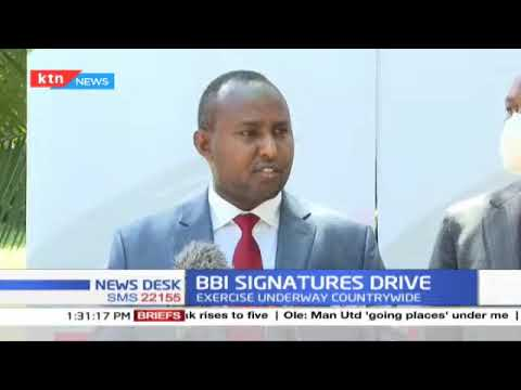 """""""Our coordinators are in touch with all political parties"""", Junet Mohammed issues statement on BBI"""