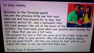 Message for Regina's Christening(4)