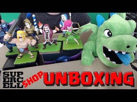 Supercell Shop Unboxing! || Clash Royale / Clash of Clans Figuren im Wert von 150€ [+Katze;)]