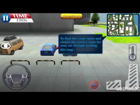 police driver game 3D обзор игры андроид game rewiew android