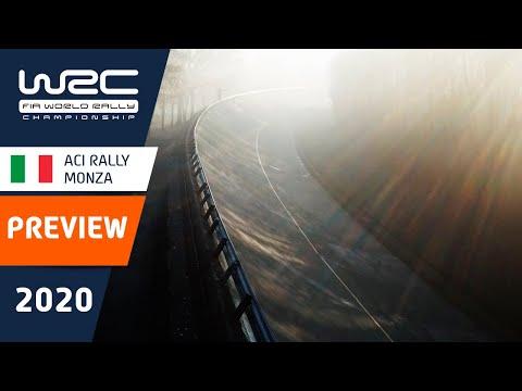 WRC第7戦ラリー・モンツァ ラリー直前のプレビュー動画
