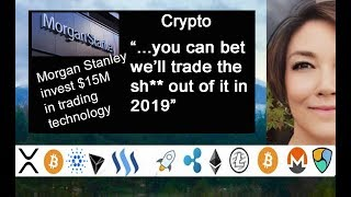 Morgan Stanley Invest $15M in a Trading Platform Technology, Western Union, Ripple XRP, Quoine Japan
