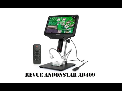 Andonstar AD409 10.1-inch Display HDMI Digital Microscope