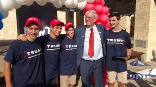Donald Trump Campaign Opens in Israel