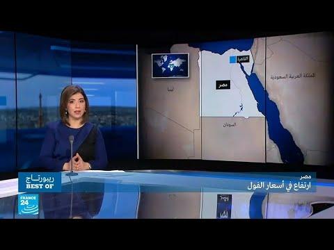 العرب اليوم - شاهد : خطط الحكومة المصرية لمواجهة أزمة ارتفاع أسعار الفول