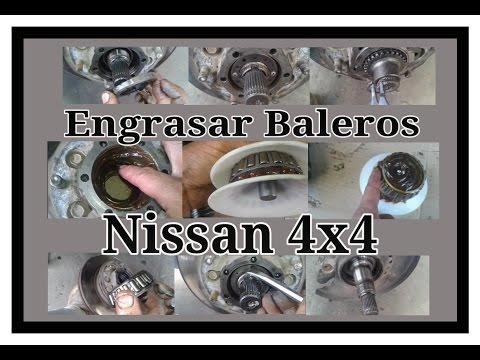 Engrasar baleros, Nissan 4x4
