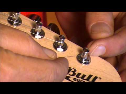 FITTING STRINGS AND STRING GUIDES