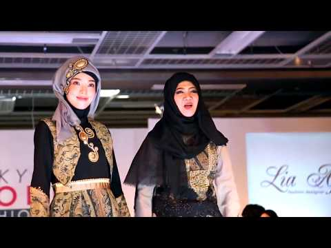 First Muslim Fashion Show in Tokyo, Japan Aufa TOKYO