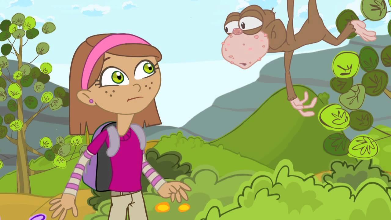 El mono y la fruta : LAS FRESAS