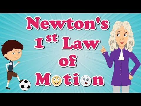 Newton's First Law of Motion | #aumsum