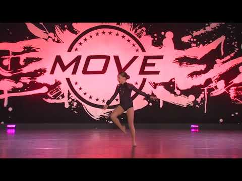 Emmy Claire age 9 contemporary solo THE PARTY 8th overall  & MOVE AWARD