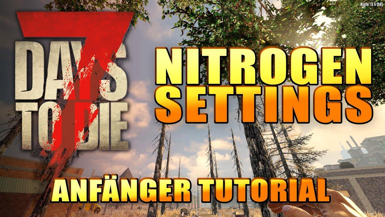 7 Days to Die 01 | Maps erstellen mit Nitrogen & Gamesettings | Alpha 19 Gameplay Deutsch Tutorial thumbnail