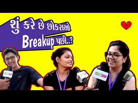 Boys And Girls After BreakUp   Street interview   Ahmedabad Breakup stories