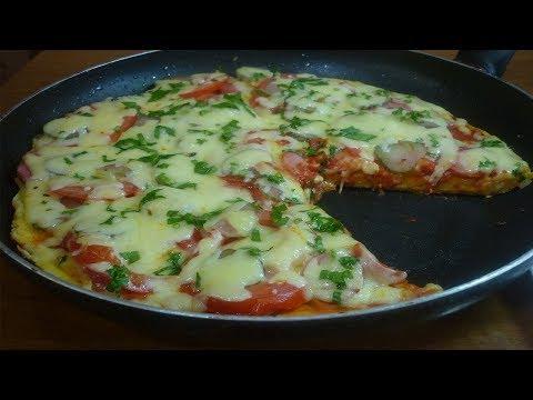 Пицца на сковороде за 5 минут вполне реальна. Предлагаю очень простой и быстрый рецепт пиццы без выпечки,...