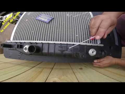 Como Reparar el Radiador de un Carro en 10 segundos